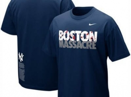 футболки Nike Boston Massacre