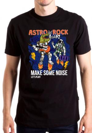 футболка astro rock dino