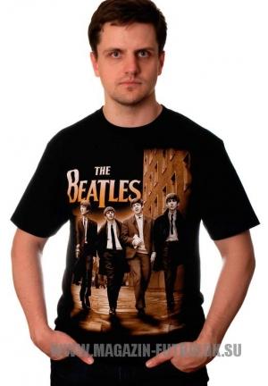 футболка beatles london street