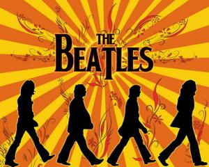 постер beatles poster