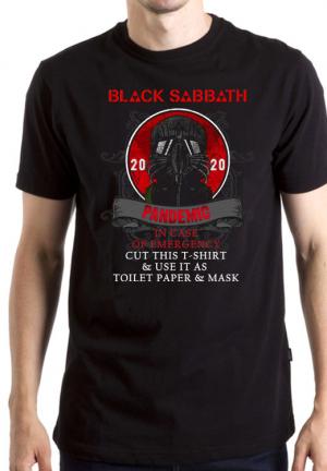футболка pandemic black sabbath