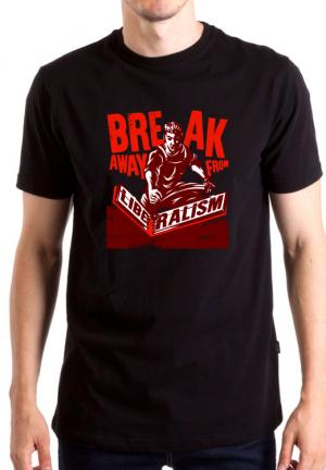 футболка break away liberalism