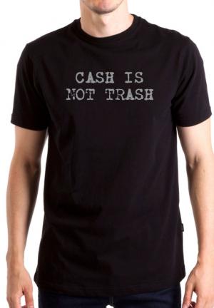 футболка cash is not trash