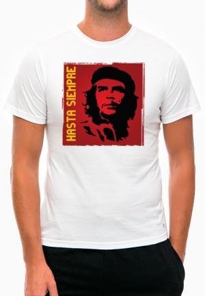 футболка че гевара hasta siempre