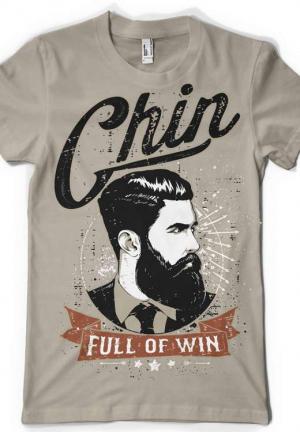 футболка chin full of win