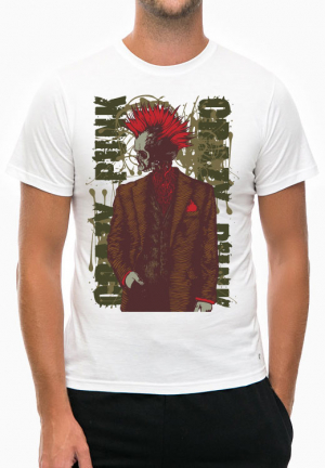 футболка crazy punk