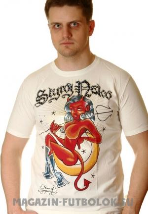футболка devils girl