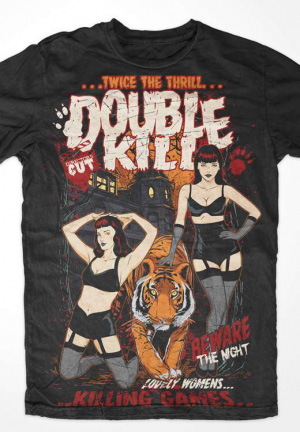 футболка double kill