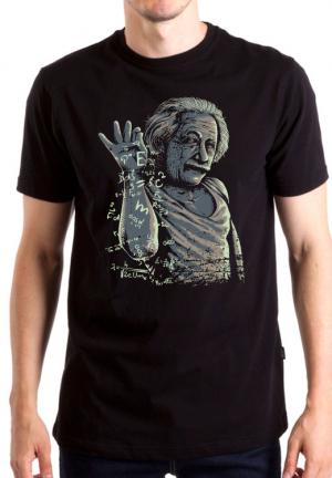 футболка einstein albert funny