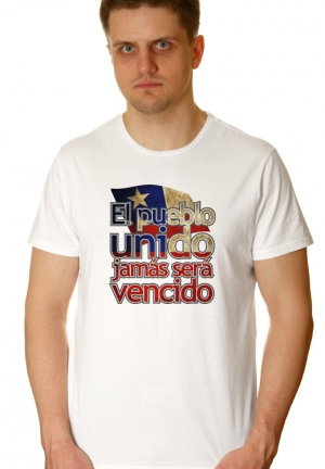 футболка in pueblo unido jamas sera vensido