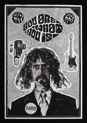 постер frank zappa poster