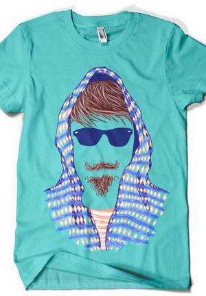 футболка hipster 2