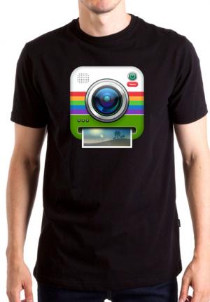 футболка instagram camera