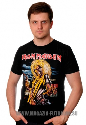 футболка iron maiden  killers