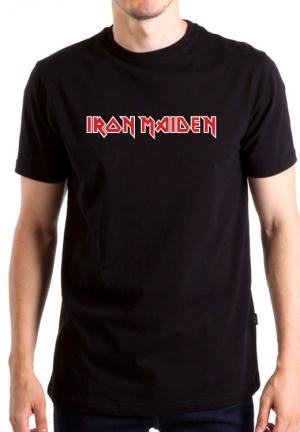 футболка iron maiden logo