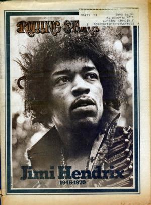 постер jimi hendrix rolling stone poster