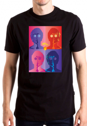 футболка john lennon poster
