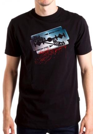 футболка judas priest british steel