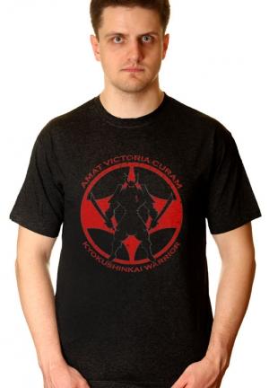 футболка kyokushin warrior
