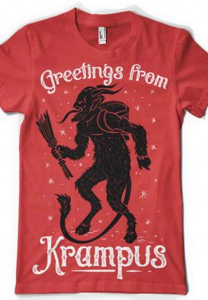 футболка krampus