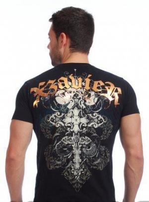 футболка xzavier l1455blk