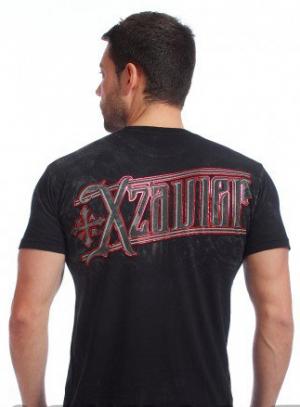 футболка xzavier l1535blk