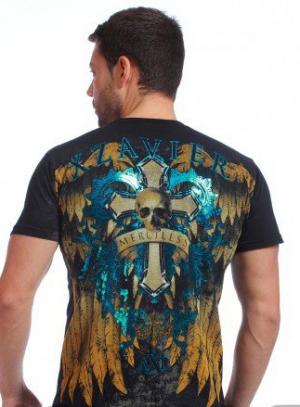 футболка xzavier l1592blk