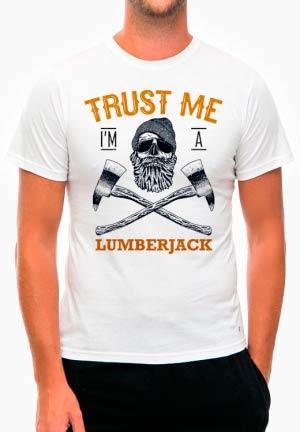 футболка trust me lumberjack