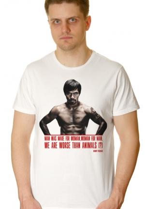 футболка manny pacquiao - под заказ