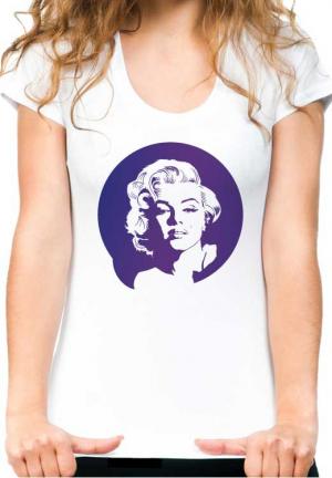футболка marilyn monroe white girls