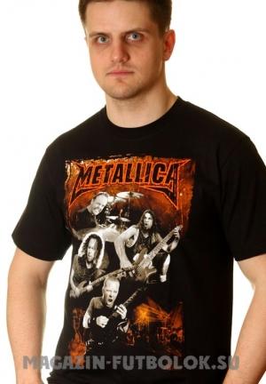 футболка metallica group