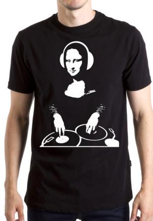 футболка мона лиза dj