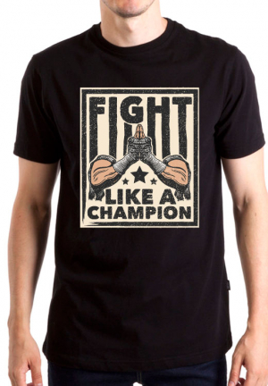 футболка muay thai like champion
