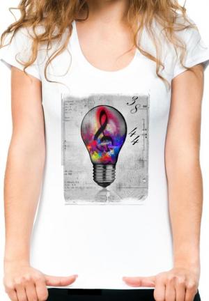 футболка music lamp