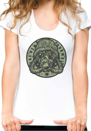 футболка new normal white girls