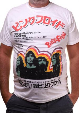 Футболка Pink Floyd Japan