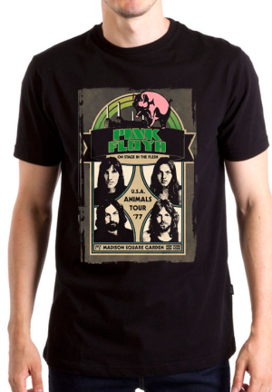Футболка Pink Floyd Us Animals Tour 77