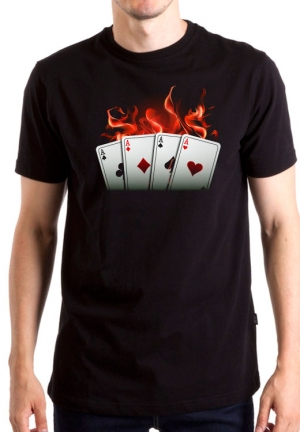 футболка покер