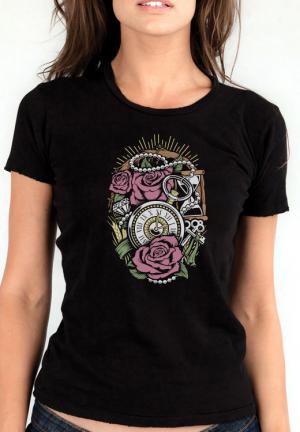футболка precious time girls black