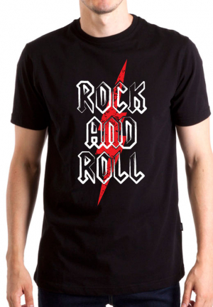 футболка rock n roll slash