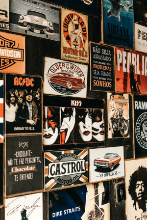 постер rock posters many poster