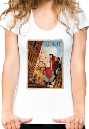 футболка rome vespa