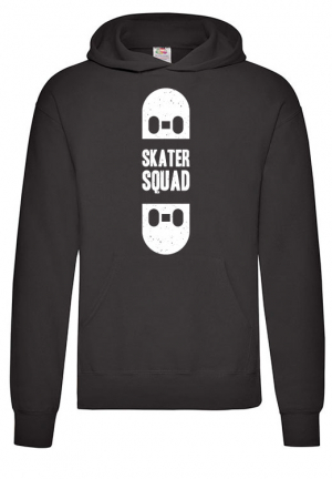 Худи Skater Squad Hoodie Black