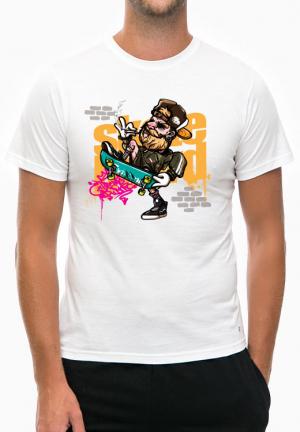 футболка skater cigar
