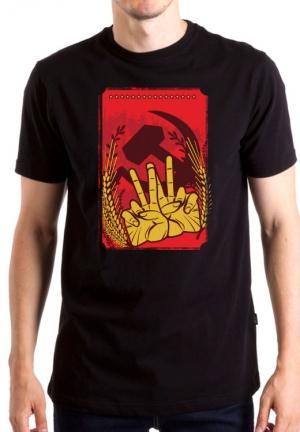 футболка soviet poster
