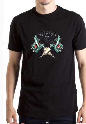 футболка tattoo salon black