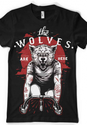 футболка the wolves are here