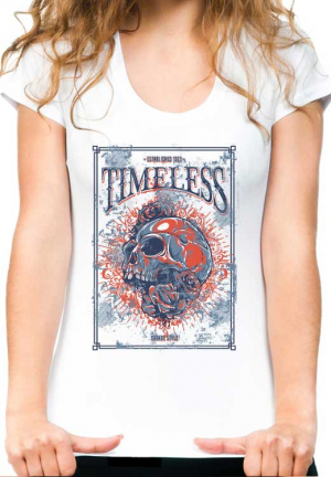 женская футболка timeless