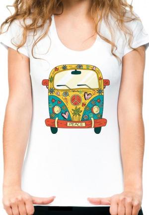 футболка vw hippie