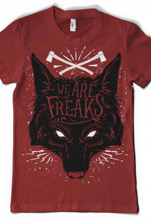 футболка we are freaks